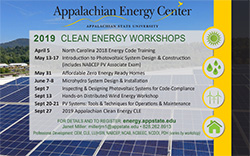 AEC Workshops postcard