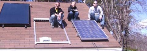 Department of Technology and Environmental Design's Solar Research and Teaching Laboratory