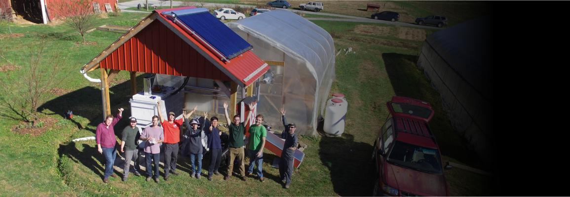Faculty and students at the NEXUS facility